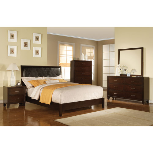 Tyler Eastern King Bed, Espresso