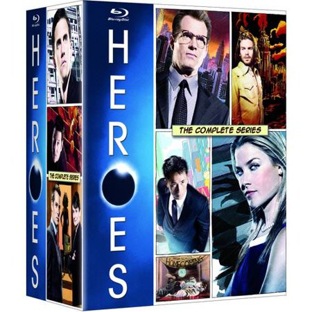 Heroes  The Complete Series  Blu Ray