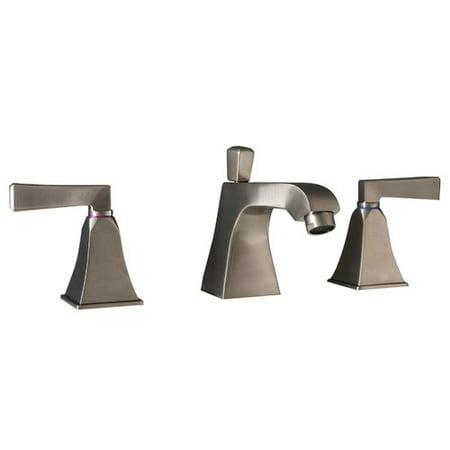 Maykke Severo 3 Piece Widespread Wrist Blade Bathroom Faucet Set