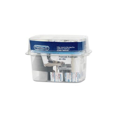 ACME UNITED CORPORATION Bandage Box Kit, 6-3/8x4-3/8x4-3/4, Assorted