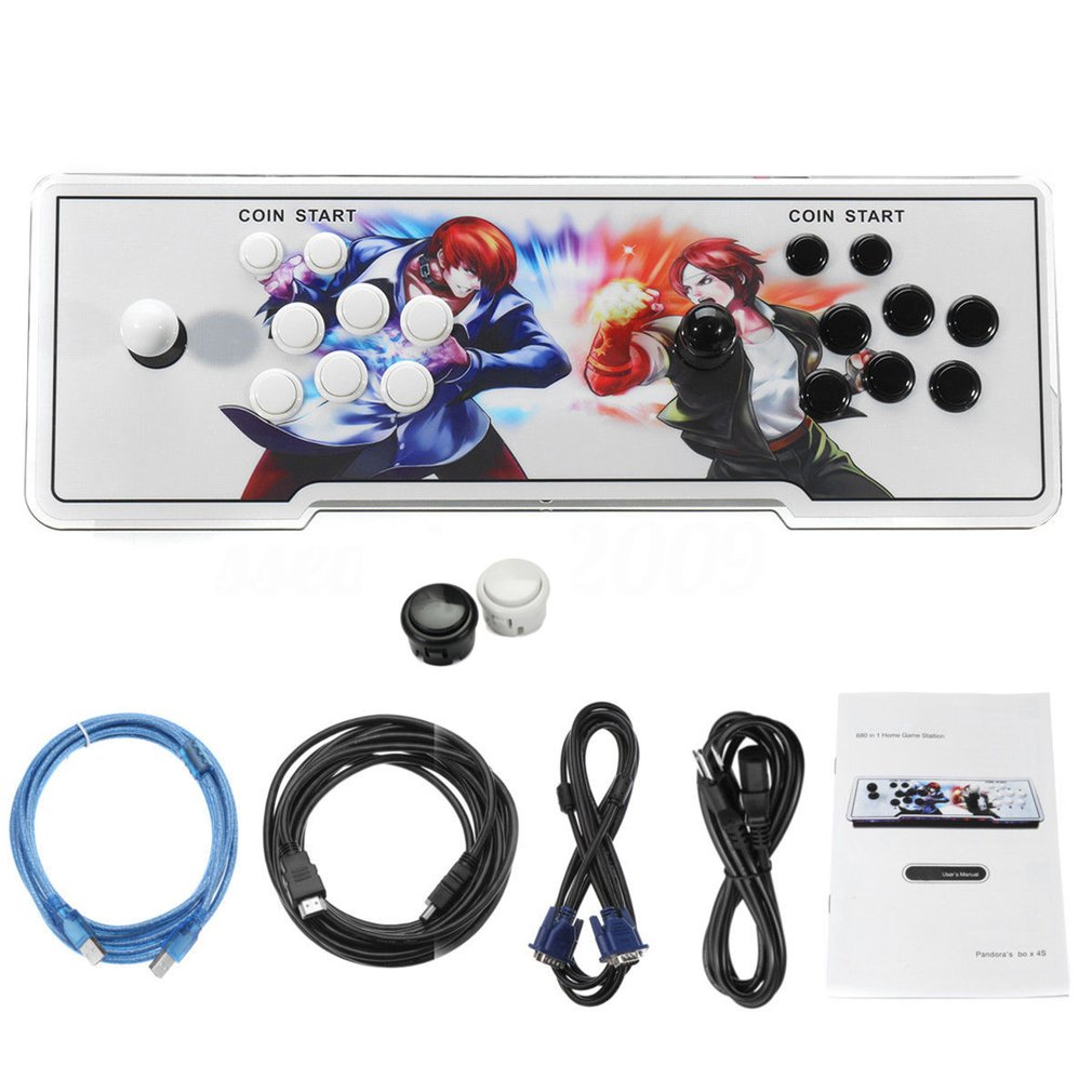 800 In 1 TV For Jamma Arcade Game Console Double Joystick...