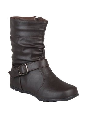b3397914bd8b Product Image Brinley Co Girls  Slouchy Accent Mid-calf Boots
