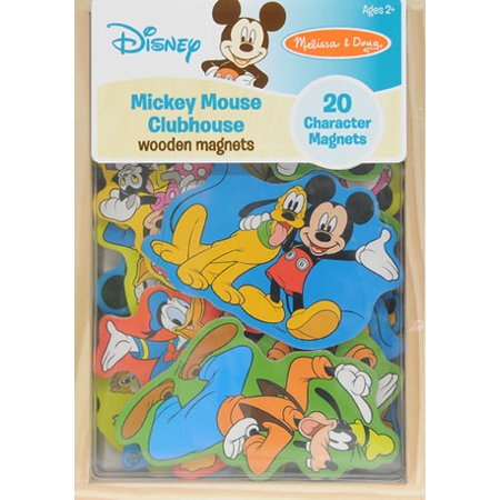 Melissa & Doug Disney Wooden Magnet Set -