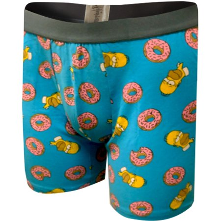 Homer Simpson Loves His Donuts Boxer Briefs