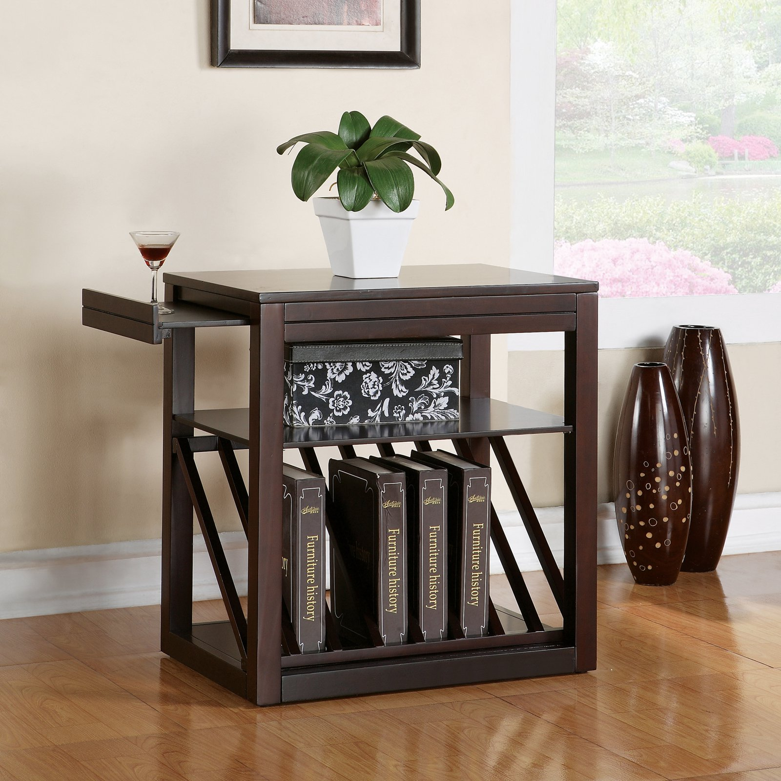 Jameson Chairside End Table, Cherry