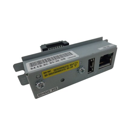Epson UB-E04 M329A C32C824541 10/100 Network Interface Card w/ USB