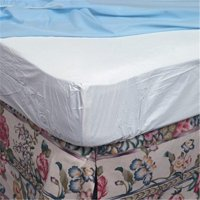 Queen Contoured Plastic Mattress Protector for Home Beds