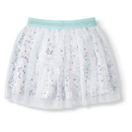 365 Kids From Garanimals Iridescent Sequin Skirt (Little Girls & Big Girls)