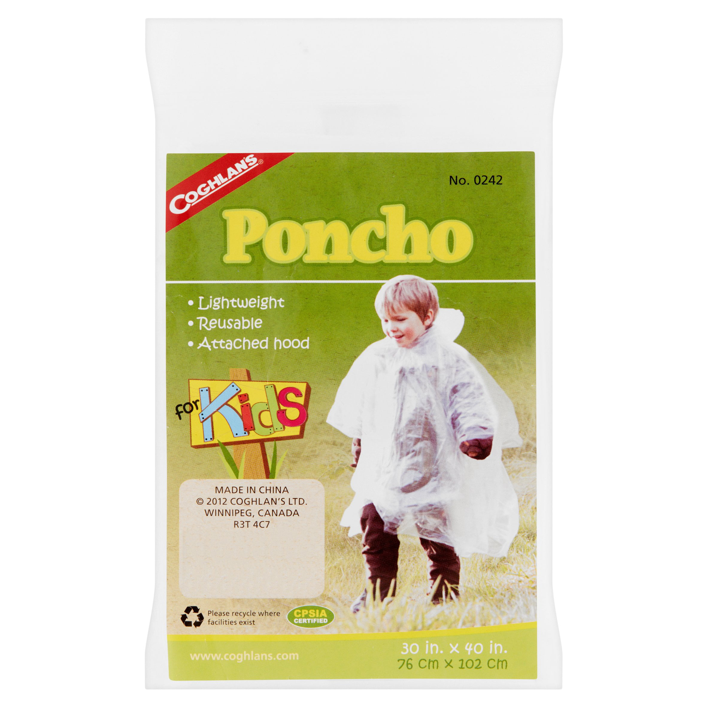 Coghlan's Poncho for Kids by Coghlan'S Ltd.