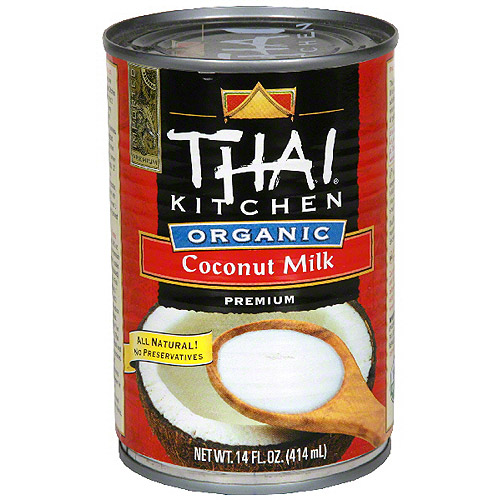 Organic canned coconut milk