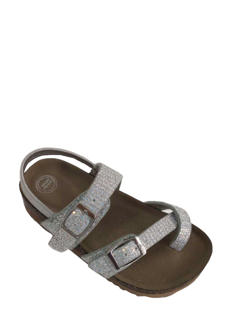 3dd1c915f25c Check Inventory. Wonder Nation Toddler Girls  Glitter Footbed Sandal