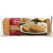 Tyson Fully Cooked Country Fried Steak Patties, 24 oz. (Frozen)