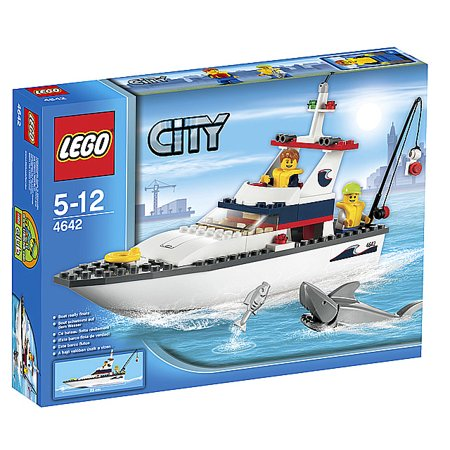 Lego city fishing boat for Walmart fishing boats