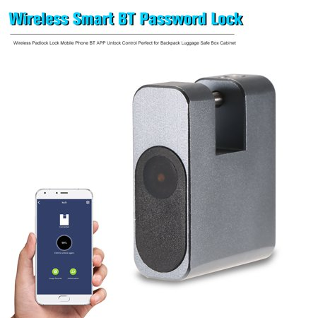 Smart Lock Keyless Anti-theft Lock Wireless Padlock Lock