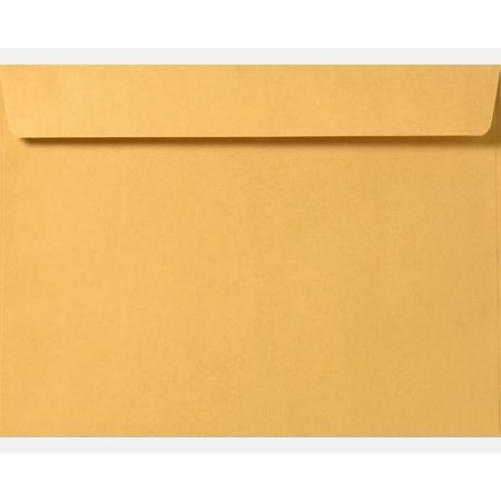 Custom Imprinted Envelopes - 6 x 9 Booklet Brown Kraft Envelopes Imprinted