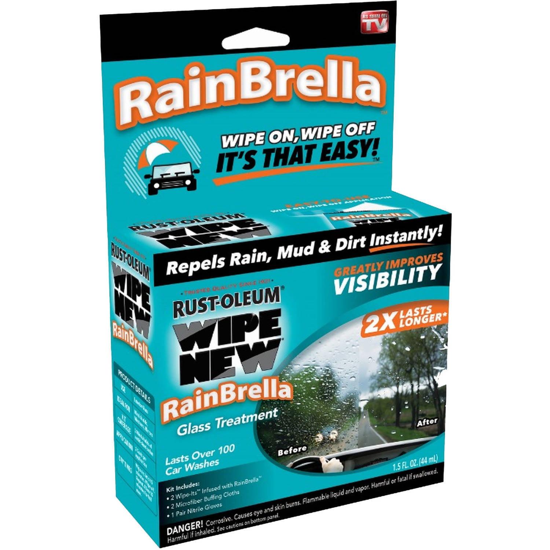 Rust-Oleum RainBrella by Wipe New Auto Glass Coating 1.5 oz.