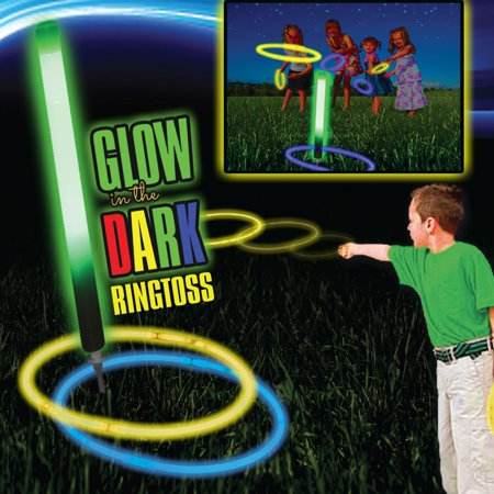 GLOW RING TOSS GAME - Ring Toss Rings