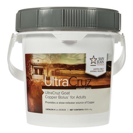 Ultracruz Goat Copper Bolus Supplement For Adults 1000 X 4 Gm