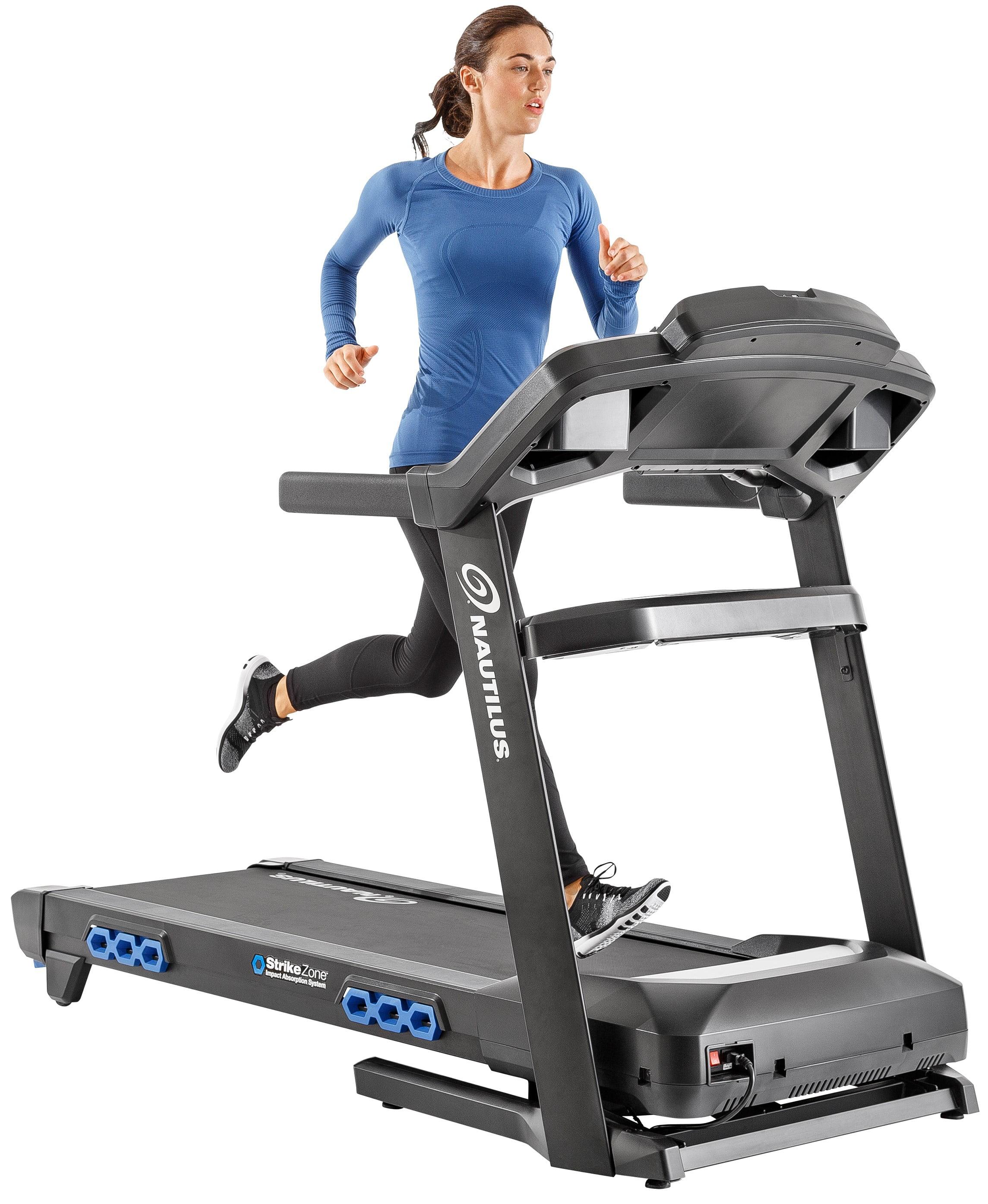 Nautilus T616 Bluetooth Treadmill with RunSocial & Nautilus Trainer 2 App Connectivity