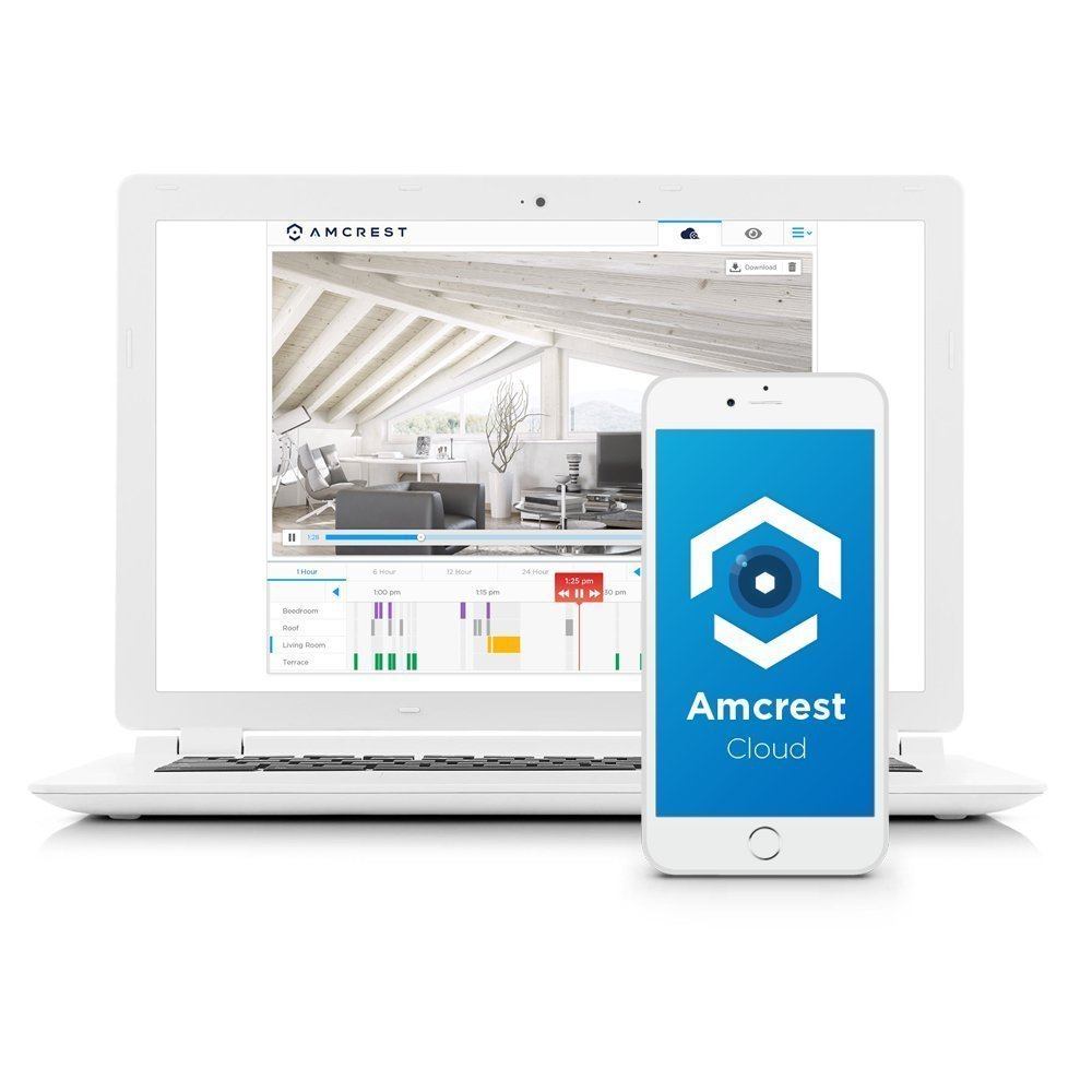 Amcrest ProHD 1080P WiFi Video Monitoring Security Wireless IP