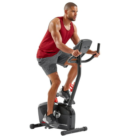 Schwinn A10 Heart Rate Enabled Upright Bike with 7 Workout Programs & 8 Levels of Resistance