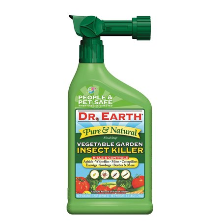 Dr. Earth Organic & Natural Final Stop Vegetable Garden Insect Killer, 32 oz