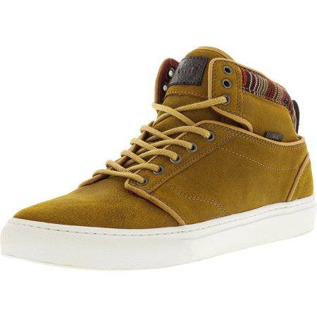 Vans Alomar + Suede And Indo Spruce Yellow Ankle-High Skateboarding Shoe - 12M / 10.5M ()