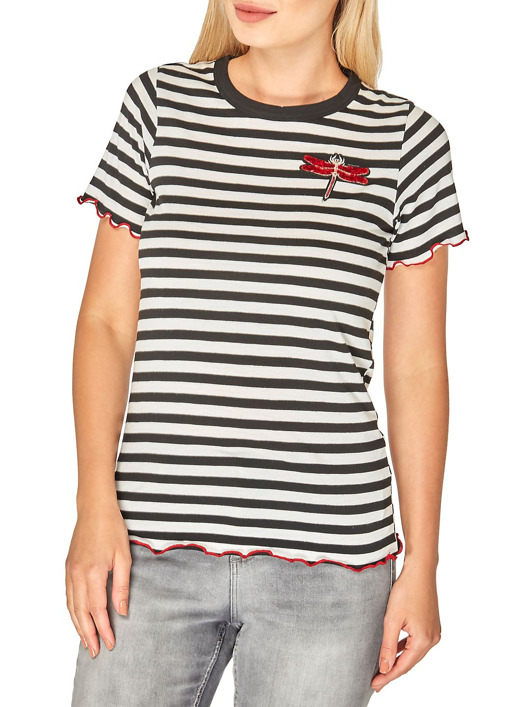 Dragonfly Striped Tee