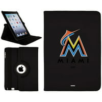 Miami Marlins iPad Air Swivel - Black - No Size