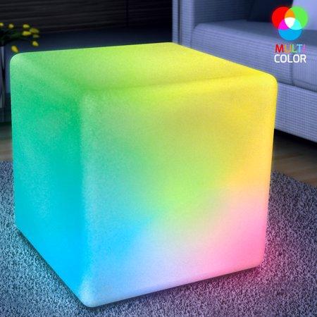 FlashingBlinkyLights Big LED Cube Light Furniture