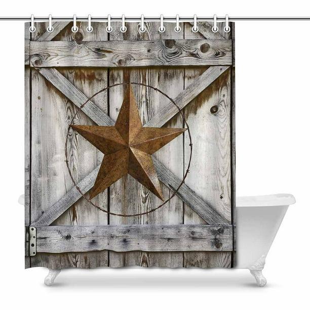 Mkhert Western Texas Star On Rustic Old