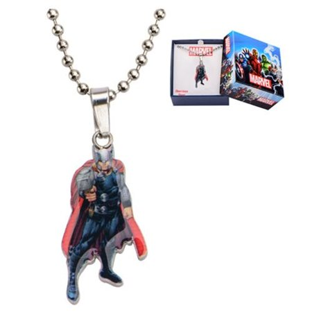 Thor Stainless Steel Cut Out Pendant Necklace (Number of Pieces Per Case: 6)