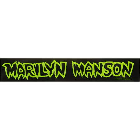 Marilyn Manson Sticker (Marilyn Manson Halloween Cover)