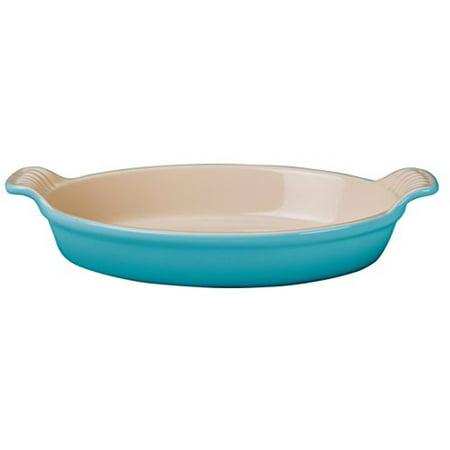 Le Creuset Caribbean Heritage Stoneware Au Gratin Dish, 1 Quart