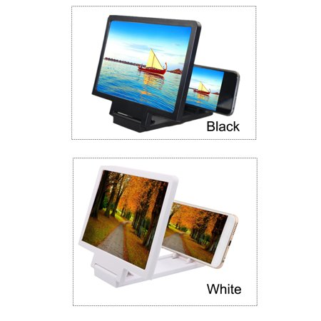 Universal Mobile Phone Screen Magnifier Bracket Enlarge Stand with 1pcs KN95 face mask - image 2 de 4