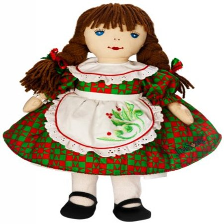 KatJan Best Pals Holiday Kathy Doll in Dress Designed by Jim Shore