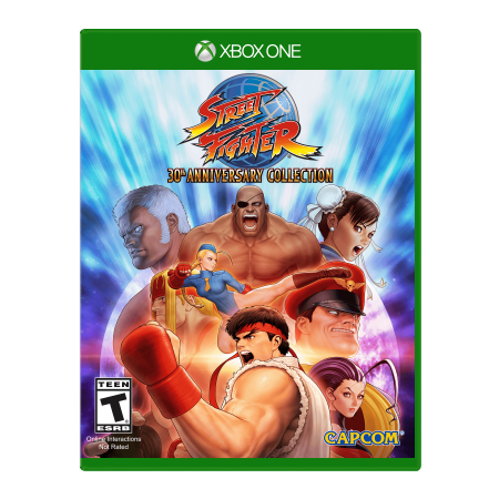 - Capcom Street Fighter 30th Anniversary Collection (XBX1)