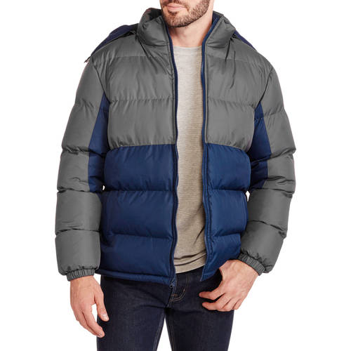 Climate Concepts Men's Fleece Lined Bubble Jacket