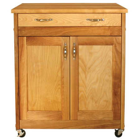 Catskill Craftsmen, Inc. Designer Kitchen Cart with Wood Top