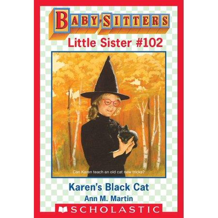 Sister Cat (Karen's Black Cat (Baby-Sitters Little Sister #102) - eBook )