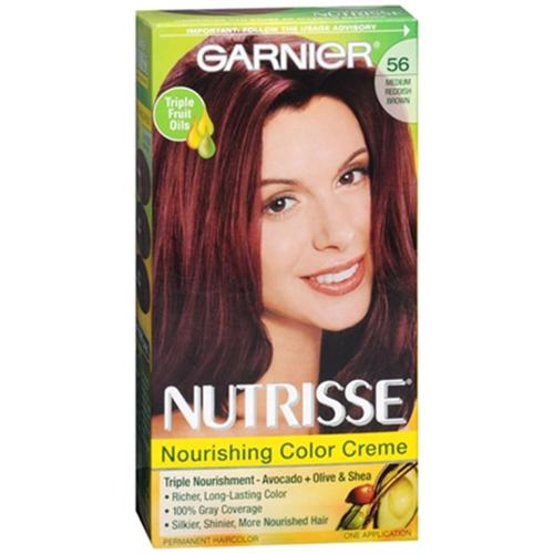 Garnier Nutrisse Haircolor - 56 Sangria (Medium Reddish Brown) 1 Each (Pack of 6)