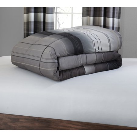 mainstays ombre bed in a bag bedding set with decorative