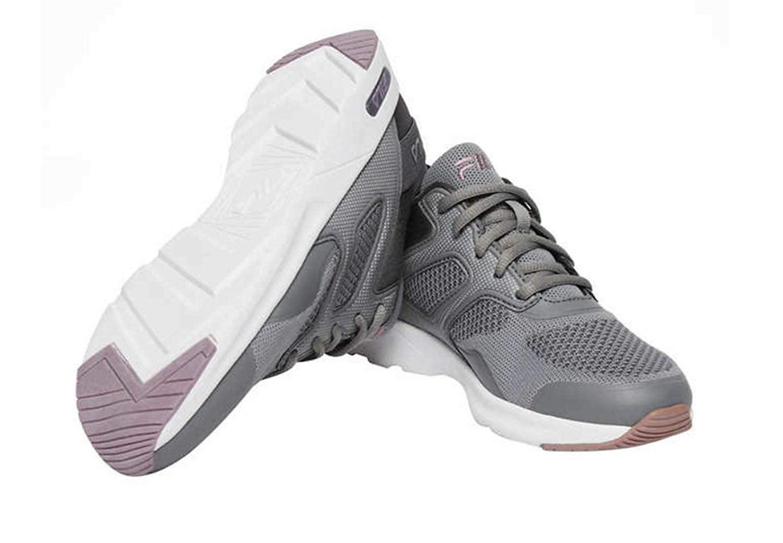 a041620e Fila Women's Memory Foam Frame V6 Athletic Running Shoes - Grey or Black  (Grey/Lt Purple, 9.5 M US)