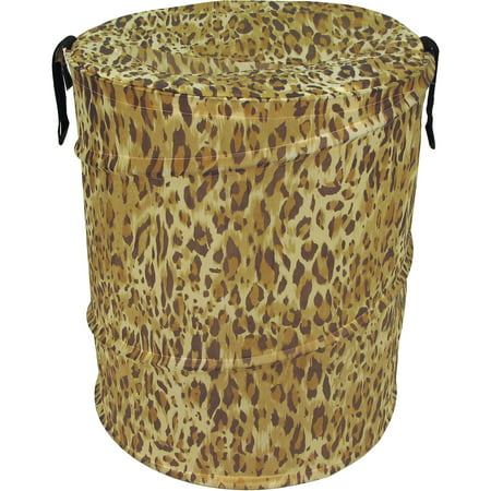 Cheetah Pattern Bongo Bag Pop-Up Hamper