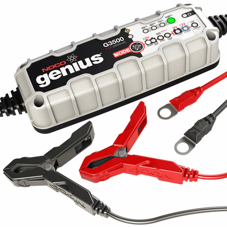 NOCO G3500 3.5 Amp Multi-Purpose Battery Charger (Noco Ncp2 Mc101 Battery Terminal Treatment Kit)
