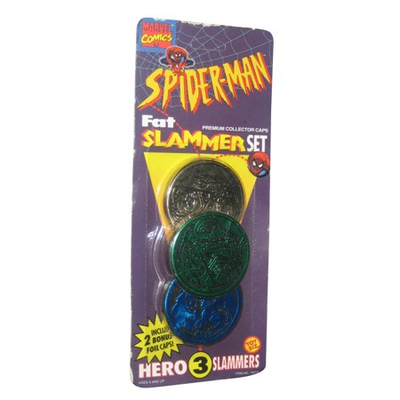 Vintage Tom - Marvel Spiderman Toy Biz Vintage Fat Hero Cap Slammer Set
