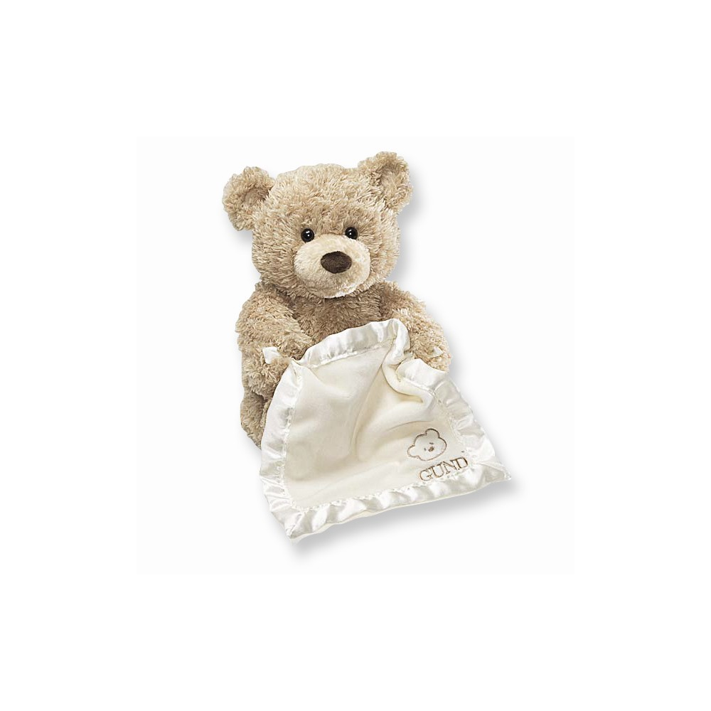 Gund Peek-A-Boo Teddy Bear Animated Stuffed Animal by Rejects from Studios