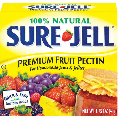 Kraft Baking & Canning Sure-Jell Fruit Pectin Premium 100% Natural, 1.75 oz