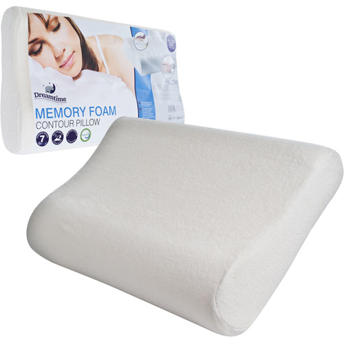 Remedy Comfort Memory Foam Bed Pillow with Removable Cover