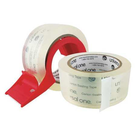 HD Box Sealing Tape,Disp,48mmx50m,PK2